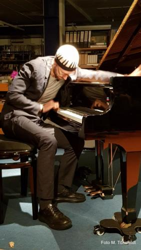 15.03.2019 - David Helbock Trio- Jazz in der Bücherei - David Helbock (piano)