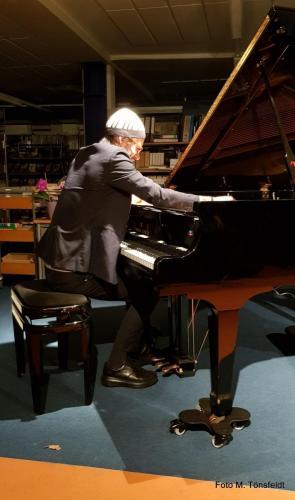 15.03.2019 - David Helbock Trio - Jazz in der Bücherei - David Helbock (piano)