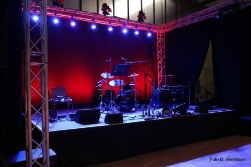 Kunstflecken 2020 Werkhalle Jazzförderer-Preis 11.09.2020 - Bühne